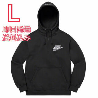 シュプリーム(Supreme)のL Nike Half Zip Hooded Sweatshirt(パーカー)