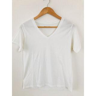 フリークスストア(FREAK'S STORE)のVネック 白Tシャツ  FREAK'S STORE インナー(Tシャツ(半袖/袖なし))