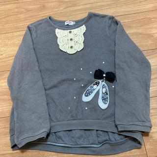 ミキハウス(mikihouse)の値下げ ミキハウス シューズカットソー 120(Tシャツ/カットソー)