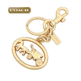 COACH - COACH ホース アンド キャリッジ メタル バッグ チャーム