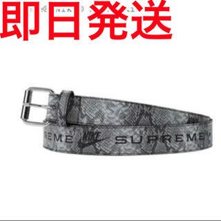 シュプリーム(Supreme)のsupreme nike snake skin belt s/m シュプリーム(ベルト)