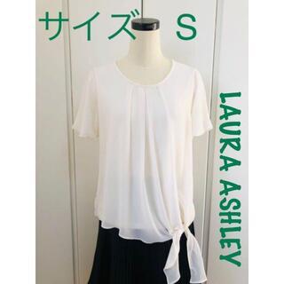 ローラアシュレイ(LAURA ASHLEY)のサイズS  レディーストップス ローラアシュレイ(Tシャツ(半袖/袖なし))