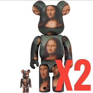 メディコムトイ(MEDICOM TOY)のBE@RBRICK Mona Lisa 400% x2体(その他)