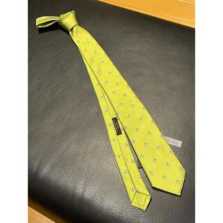 ザラ(ZARA)の未使用 ZARA ネクタイ 織り柄 グリーン系(ネクタイ)