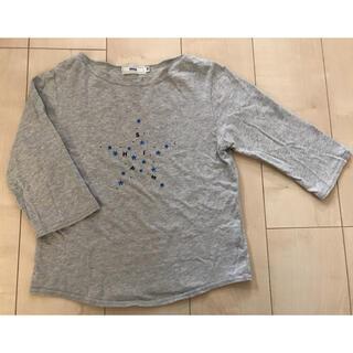 シップスキッズ(SHIPS KIDS)のシップス 130cm  Tシャツ 長袖シャツ グレー カットソー ships(Tシャツ/カットソー)