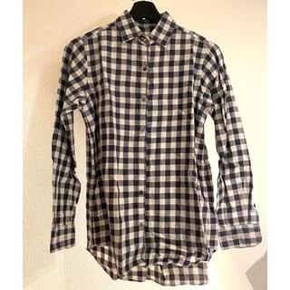 スティーブンアラン(steven alan)の⭐︎春コーデ⭐︎stevenalan ギンガムチェックシャツ Sサイズ(シャツ/ブラウス(長袖/七分))