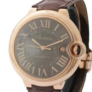 カルティエ(Cartier)のカルティエ Cartier バロンブルー LM 腕時計 メンズ【中古】(レザーベルト)