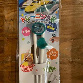 ジェイアール(JR)の新幹線はやぶさの子ども用トレーニング箸(電車のおもちゃ/車)