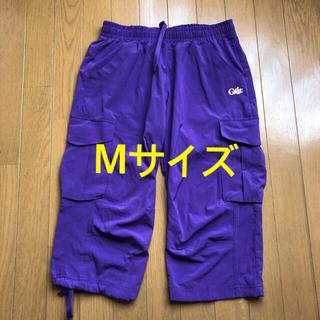 G-fit ハーフパンツ 紫 パープル Mサイズ フィットネスウエア(ヨガ)