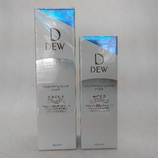 デュウ(DEW)のカネボウ DEW ブライトニングローション&エマルジョン しっとり(化粧水/ローション)
