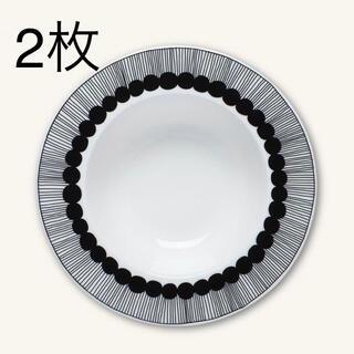 マリメッコ(marimekko)の2枚【未使用】マリメッコ Siirtolapuutarha ディーププレート(食器)