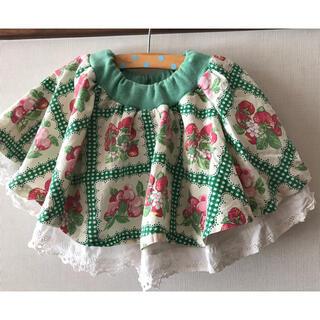 アニカ(annika)のAnnika (アニカ)苺柄スカート 100 センチ 値下げします!(スカート)