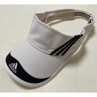 アディダス(adidas)のアディダス レディース サンバイザー 56〜58センチ(その他)
