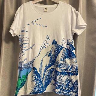 グラニフ(Graniph)のグラニフ原画ムーミンコラボTシャツ(Tシャツ(半袖/袖なし))