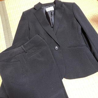 シマムラ(しまむら)の【美品】 しまむら セットアップ スーツ 9ARサイズ ブラック(スーツ)