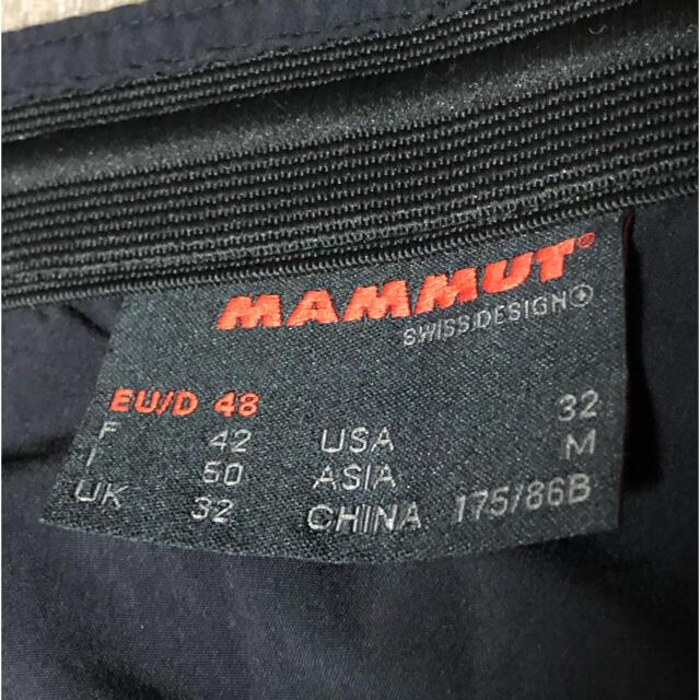 Mammut(マムート)のマムート 7分丈クライミングパンツ スポーツ/アウトドアのアウトドア(登山用品)の商品写真