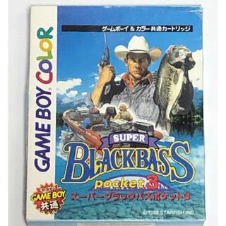 ゲームボーイ(ゲームボーイ)のGB スーパーブラックバスポケット3(携帯用ゲームソフト)