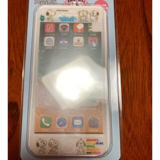 スヌーピー(SNOOPY)のスヌーピー 強化ガラスフィルム iPhone(保護フィルム)