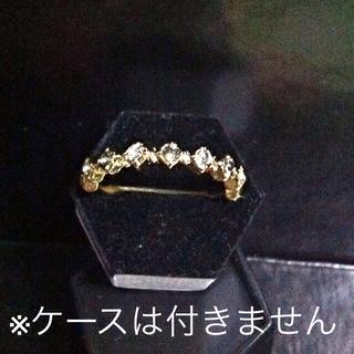 スワロフスキー(SWAROVSKI)のスワロ♡キラキラリング(リング(指輪))
