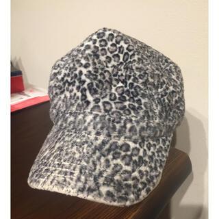 ニューエラー(NEW ERA)の週末限定 NEW ERA ニューエラ キャップ 帽子 白黒 ヒョウ柄(キャップ)
