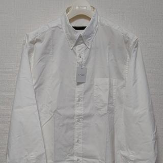 ソフネット(SOPHNET.)の【新品未使用】SOPHNET. ボタンダウンシャツ白XLサイズ(シャツ)