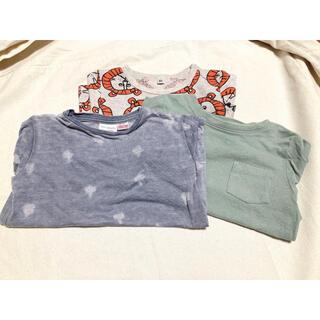 【淡い色・外国風】夏物 半袖Tシャツ3点セット(Tシャツ/カットソー)