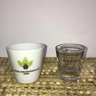 スターバックスコーヒー(Starbucks Coffee)の[中古]  STARBUCKS   ミニカップと計量グラス(グラス/カップ)