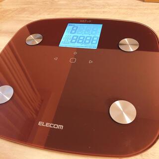 エレコム(ELECOM)のELECOM体重計(体重計/体脂肪計)
