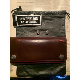 テンダーロイン(TENDERLOIN)の【激レア】テンダーロイン  刻印porter ウォレット ワインレッド キムタク(長財布)