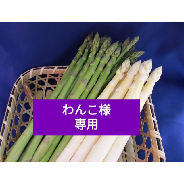ホワイトアスパラ&グリーン わんこ様専用 食品/飲料/酒の食品(野菜)の商品写真