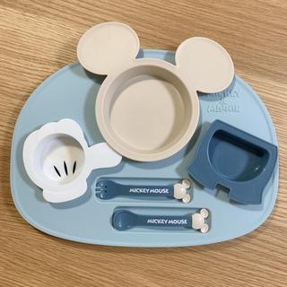 ディズニー(Disney)のミッキーミニー 離乳食食器セット(離乳食器セット)