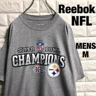 リーボック(Reebok)のReebok  NFL  スティーラーズ アメフト Tシャツ メンズMサイズ(Tシャツ/カットソー(半袖/袖なし))