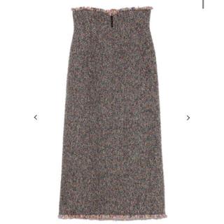 リリーブラウン(Lily Brown)のリリーブラウン ❤︎ウール混ミディ丈スカート(ロングスカート)