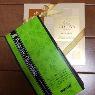チョコレート(chocolate)のGODIVA&ロイズチョコレートセット(菓子/デザート)