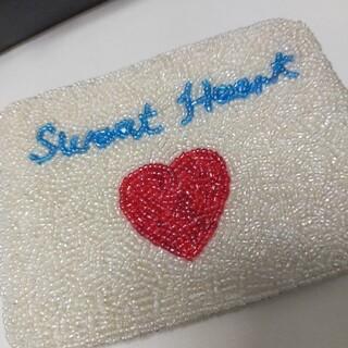 チャムス(CHUMS)の新品未使用★★ビーズ【SweetHeart】◆小銭入れ◆コインケース(コインケース)