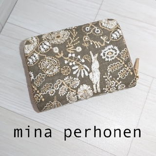 ミナペルホネン(mina perhonen)のミナペルホネン ★ ハーフ財布 (コインケース) celebrate(コインケース)