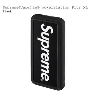 シュプリーム(Supreme)のSupreme mophie powerstation Plus XL 黒 (バッテリー/充電器)