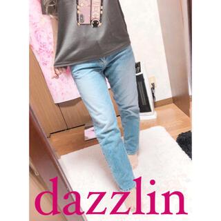 ダズリン(dazzlin)の3123.dazzlin ストレートデニム インディゴ 25インチ(デニム/ジーンズ)
