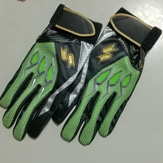 SSK(エスエスケイ)のSSK バッティング手袋  両手Lサイズ 26~27cm スポーツ/アウトドアの野球(その他)の商品写真