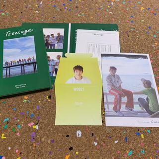 セブンティーン(SEVENTEEN)のSEVENTEEN teenage CD トレカ(アイドルグッズ)