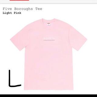 シュプリーム(Supreme)のsupreme five boroughs tee L(Tシャツ/カットソー(半袖/袖なし))