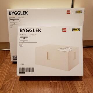 イケア(IKEA)のBYGGLEK ビッグレク 2点セット(積み木/ブロック)