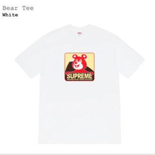シュプリーム(Supreme)のsupreme bear tee Lsize(Tシャツ/カットソー(半袖/袖なし))