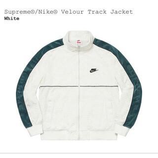 シュプリーム(Supreme)のSupreme NIKE Velour Track Jacket Lサイズ(ナイロンジャケット)