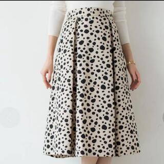 ラウンジドレス(Loungedress)の膝丈スカート(ひざ丈スカート)