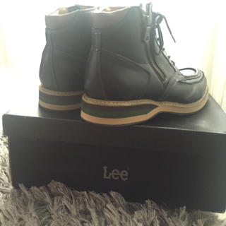 Lee(リー)のメンズ LEE レザーショートブーツ メンズの靴/シューズ(