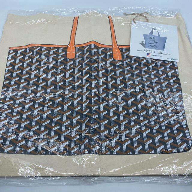 my other bag(マイアザーバッグ)のMy Other Bag トートバッグ 買い物など!エコバック オレンジ レディースのバッグ(トートバッグ)の商品写真