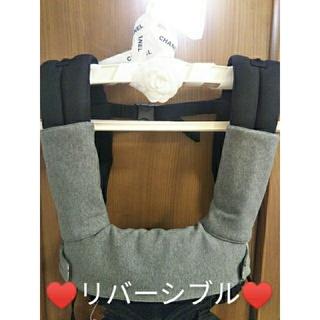 SALE♥☆ー②エルゴ抱っこ紐よだれカバー 首回りカバーセット リバーシブル (外出用品)