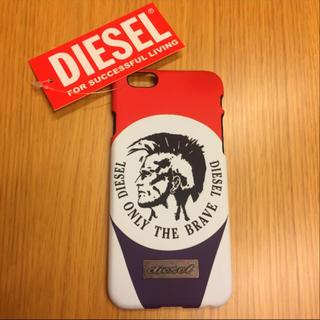 ディーゼル(DIESEL)の【男の憧れ】 タグ付き『DIESEL』 iphone6 6s case 未使用(iPhoneケース)