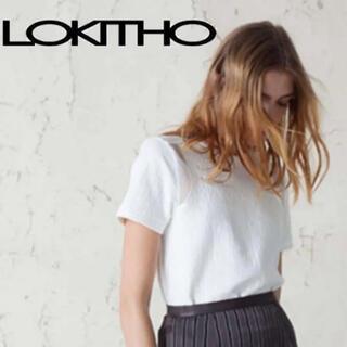 ロキト(LOKITHO)のLOKITHO ロキト 半袖 カットソー♡ʾʾ(カットソー(半袖/袖なし))